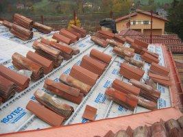 Nuova copertura edificio residenziale