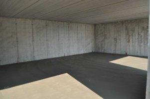 Garage interrato in collina